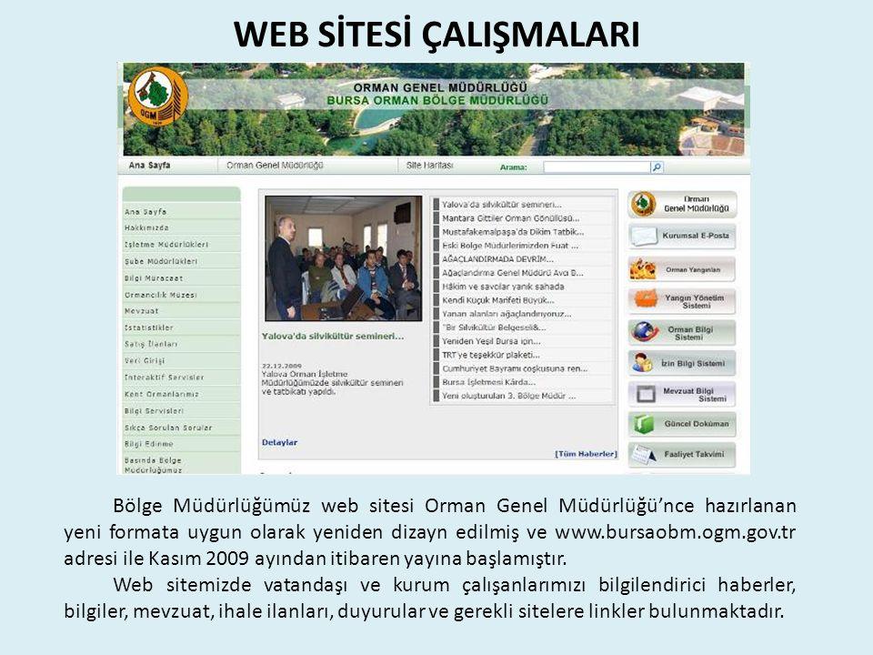 WEB SİTESİ ÇALIŞMALARI