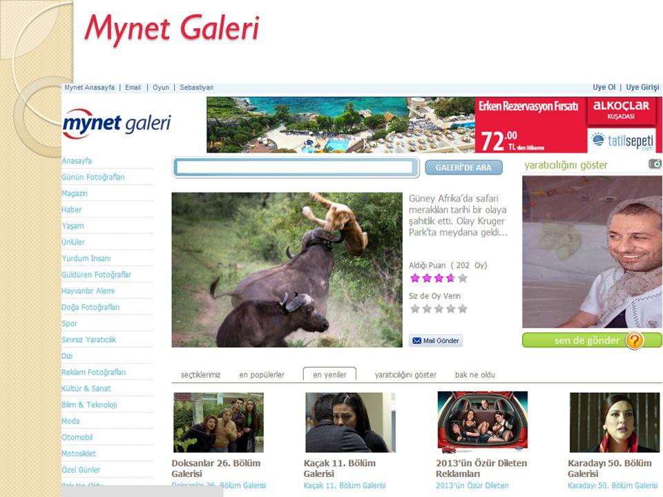 Mynet Galeri