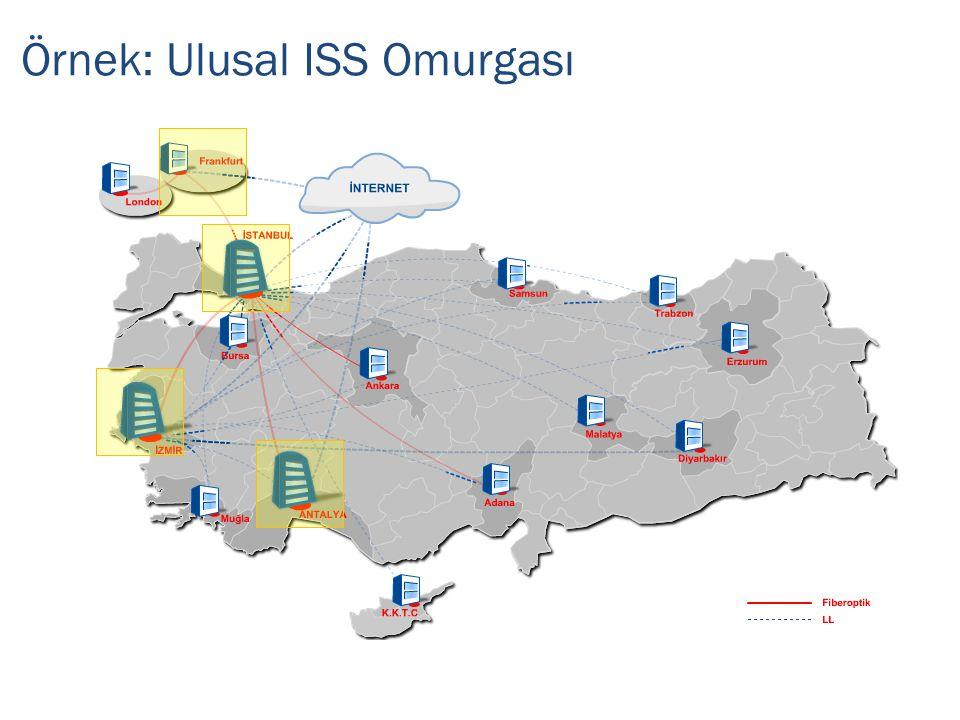 Örnek: Ulusal ISS Omurgası