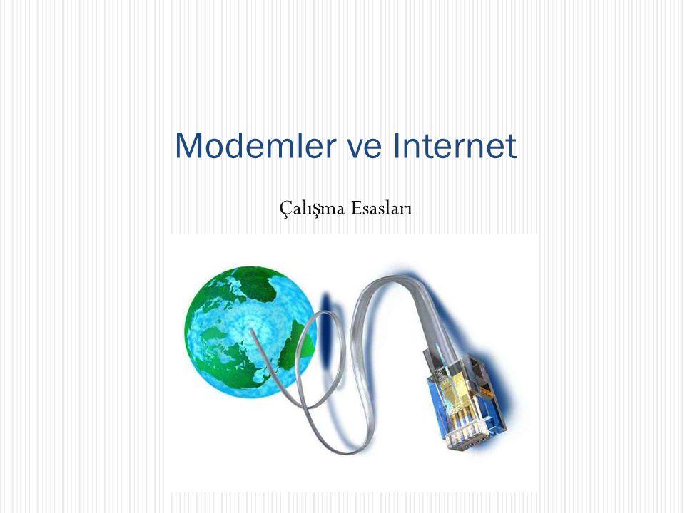 Modemler ve Internet Çalışma Esasları Fon müziği