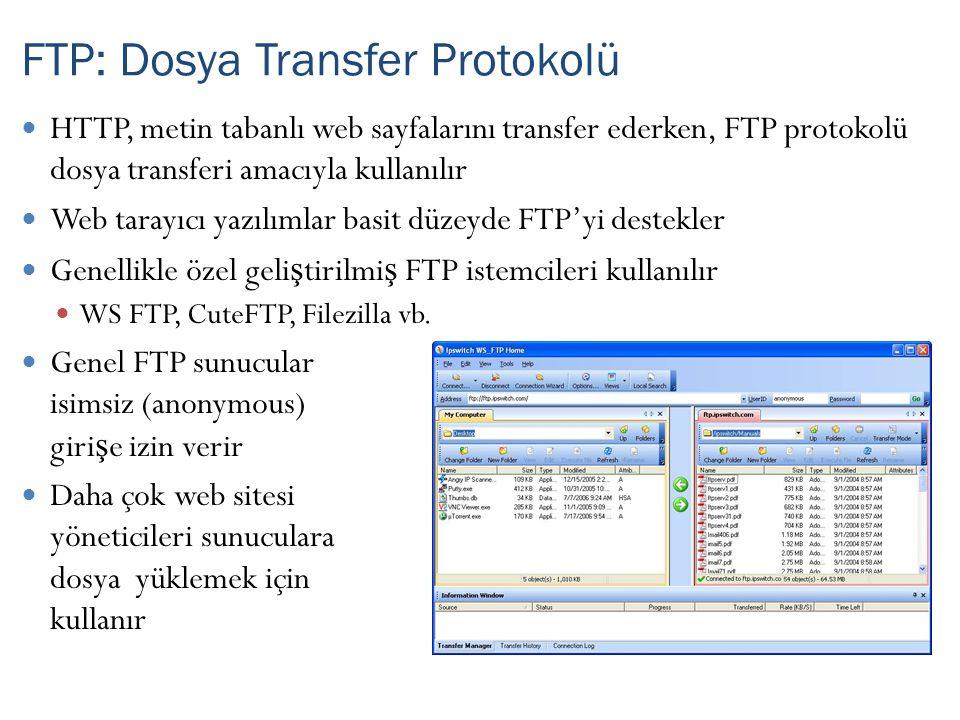 FTP: Dosya Transfer Protokolü