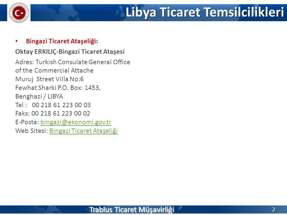 Libya Ticaret Temsilcilikleri