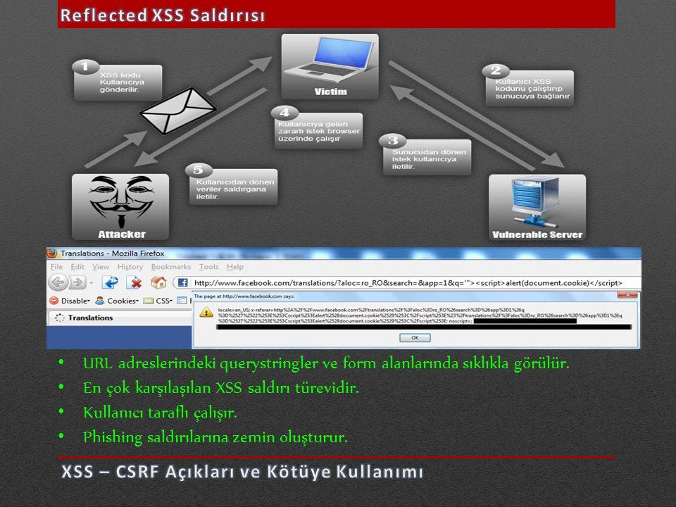 Reflected XSS Saldırısı