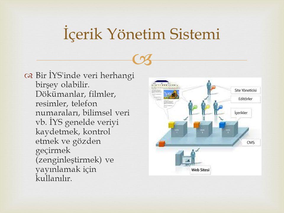 İçerik Yönetim Sistemi