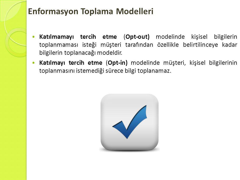 Enformasyon Toplama Modelleri