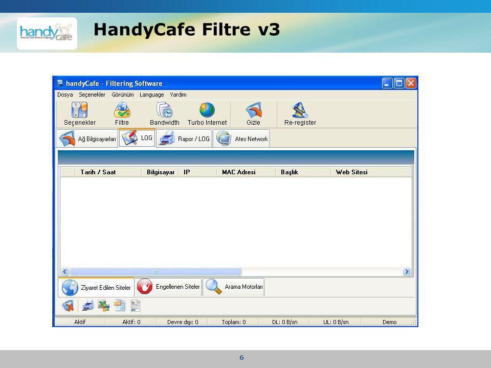 HandyCafe Filtre v3