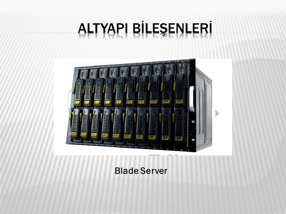 ALTYAPI BİLEŞENLERİ Blade Server