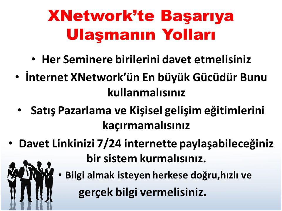 XNetwork'te Başarıya Ulaşmanın Yolları