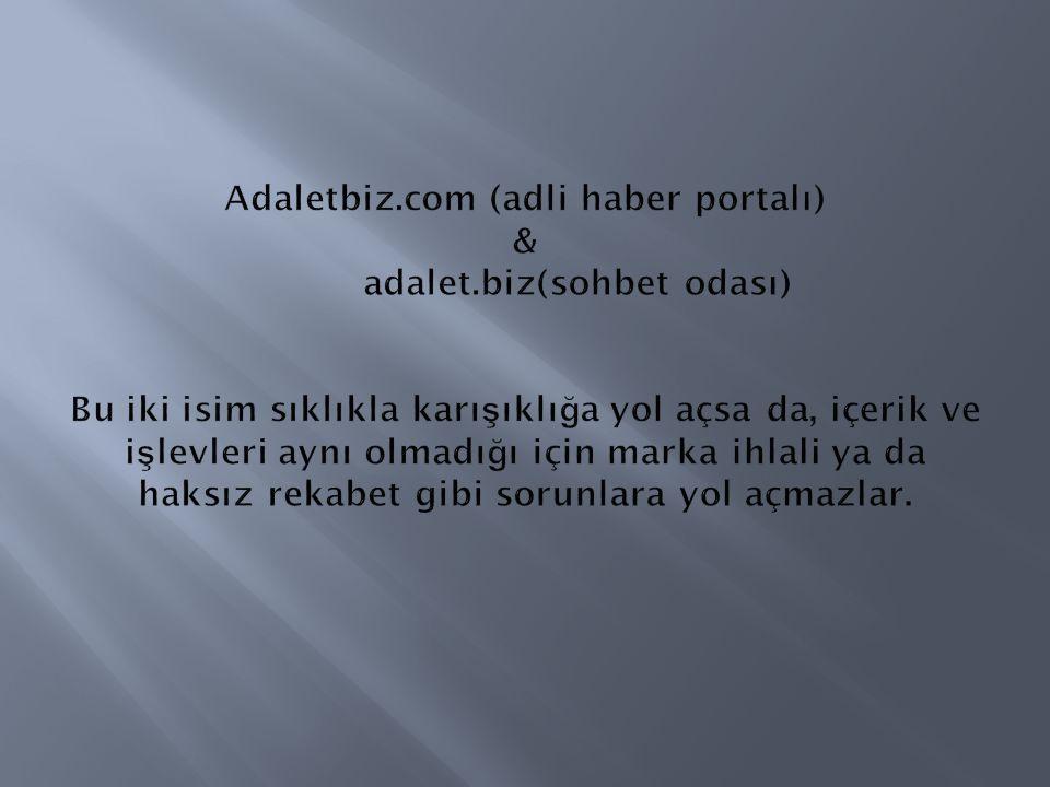 Adaletbiz. com (adli haber portalı) &. adalet