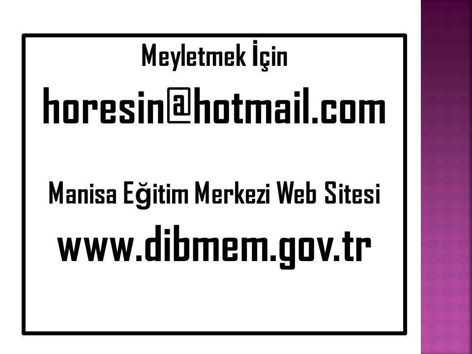 Manisa Eğitim Merkezi Web Sitesi