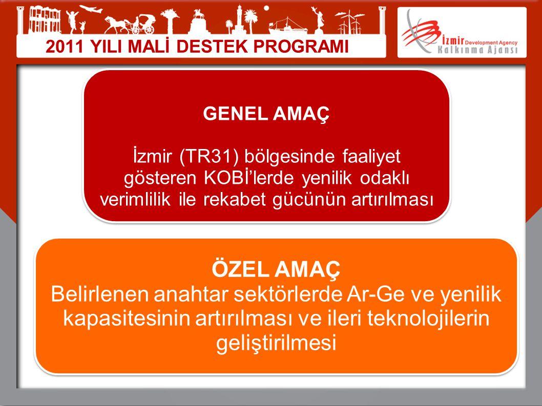 04.04.2017 2011 YILI MALİ DESTEK PROGRAMI. GENEL AMAÇ.