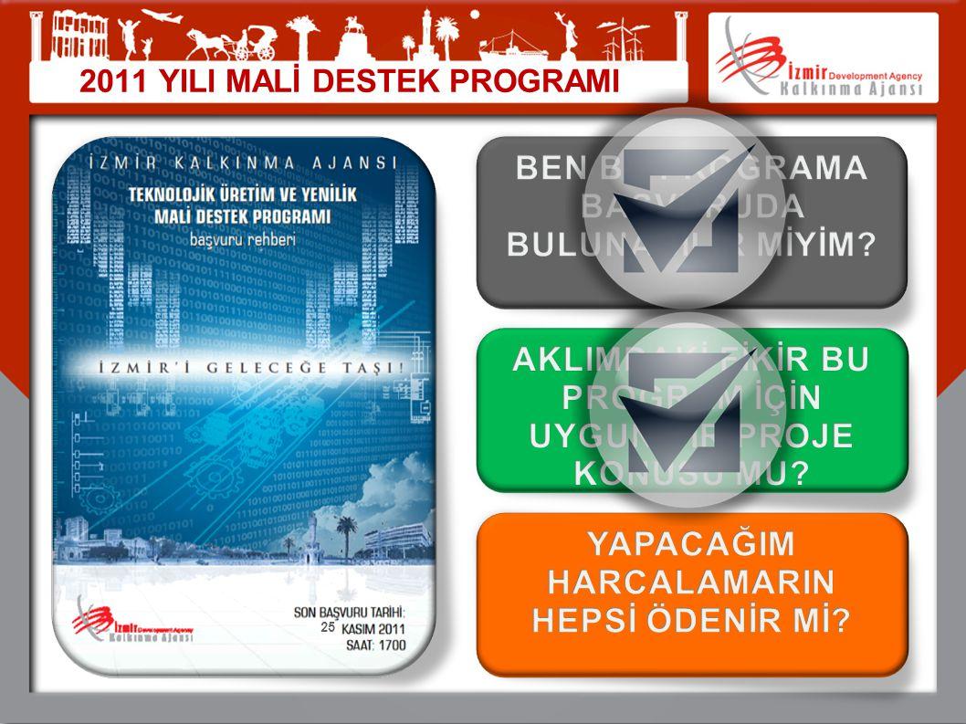 2011 YILI MALİ DESTEK PROGRAMI