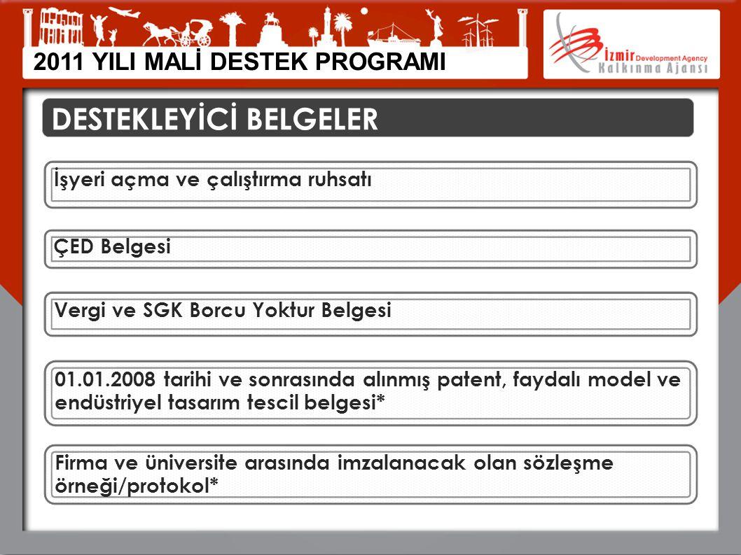 DESTEKLEYİCİ BELGELER