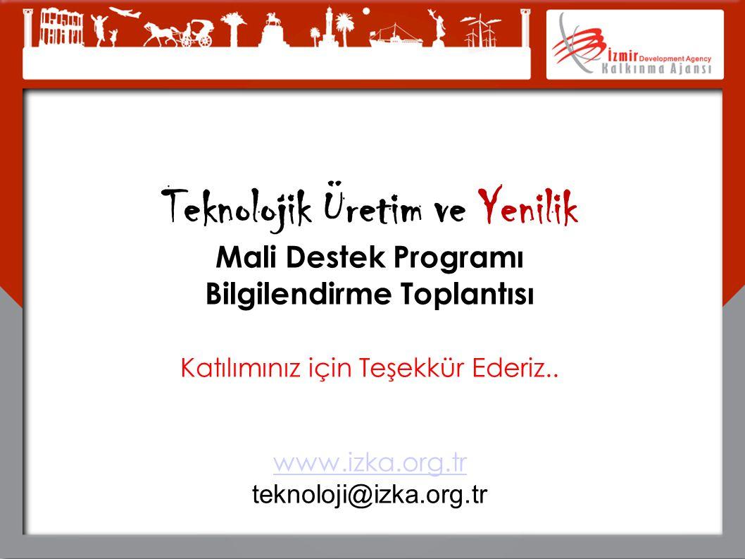 Teknolojik Üretim ve Yenilik Bilgilendirme Toplantısı