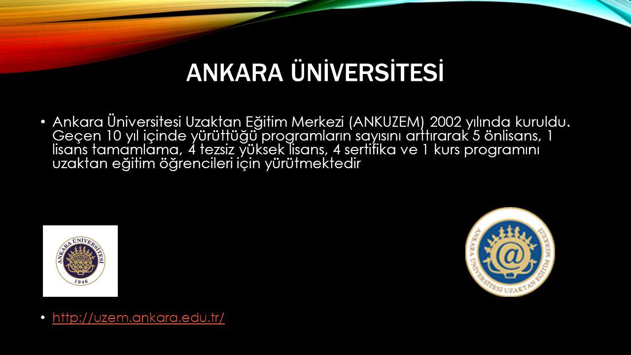 Ankara Ünİversİtesİ