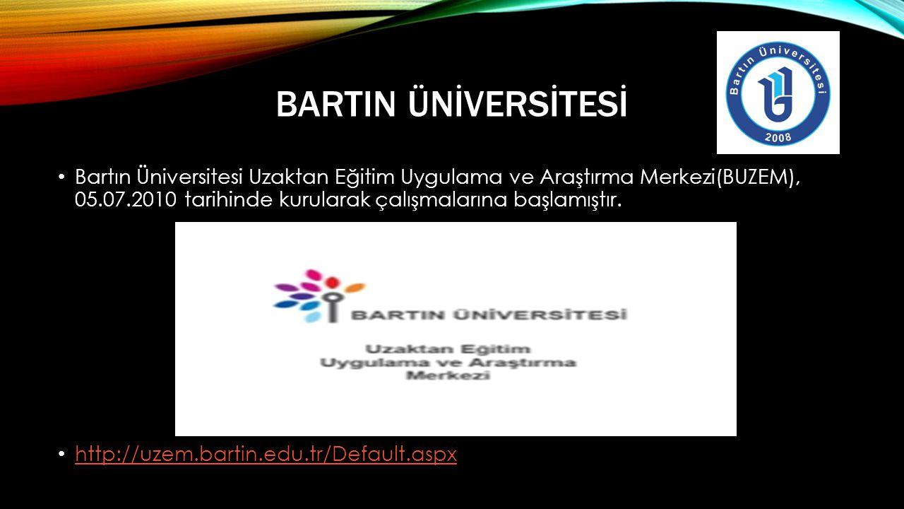 BartIn Ünİversİtesİ