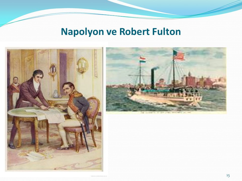 Napolyon ve Robert Fulton