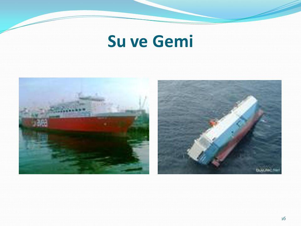Su ve Gemi