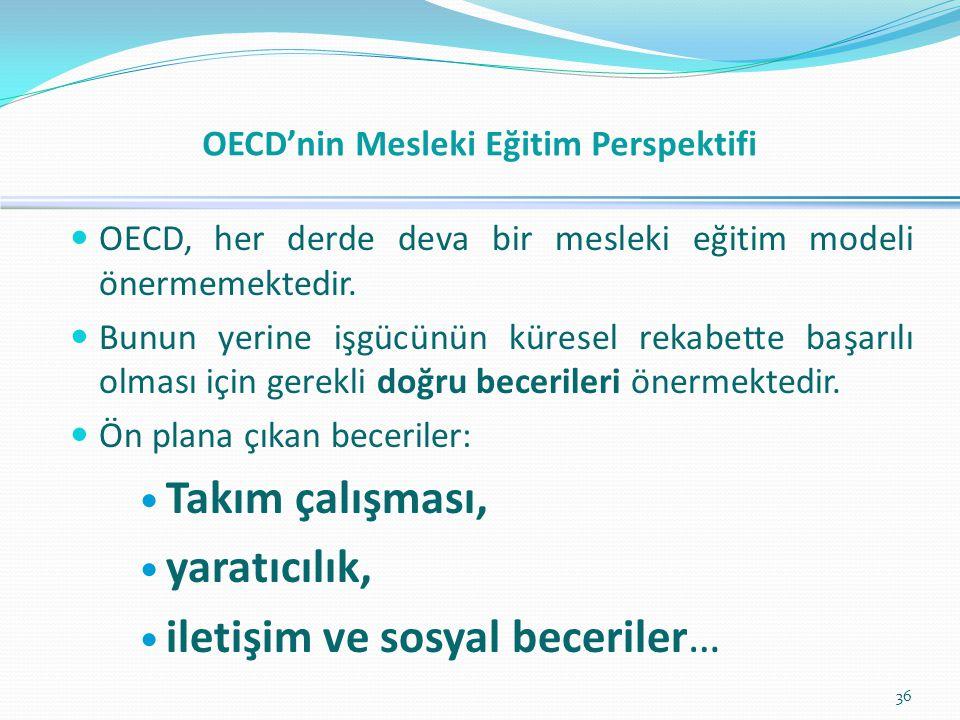 OECD'nin Mesleki Eğitim Perspektifi