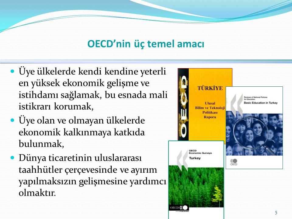 OECD'nin üç temel amacı