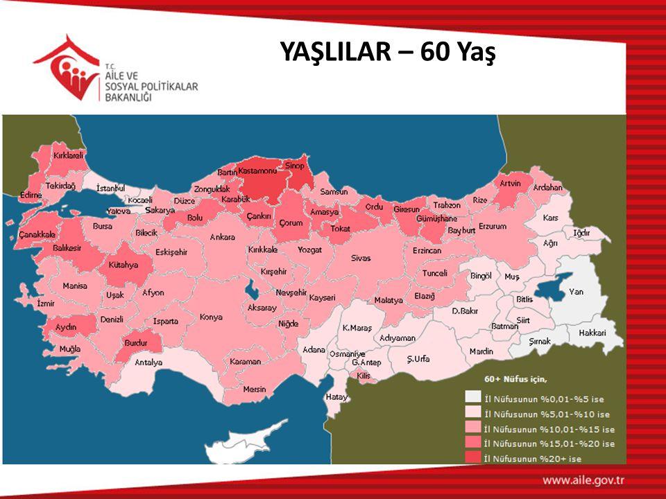 YAŞLILAR – 60 Yaş