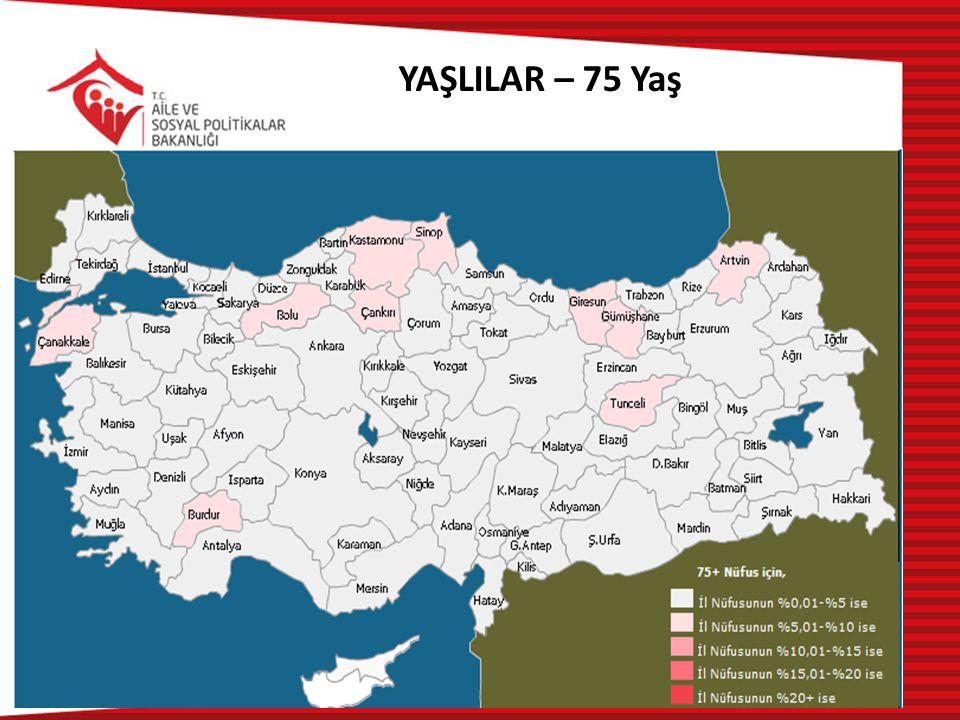 YAŞLILAR – 75 Yaş