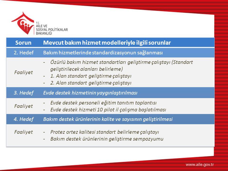 Mevcut bakım hizmet modelleriyle ilgili sorunlar