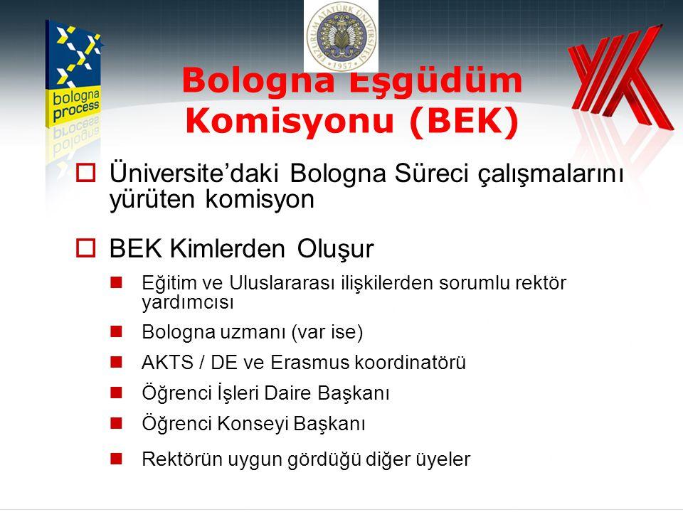 Bologna Eşgüdüm Komisyonu (BEK)