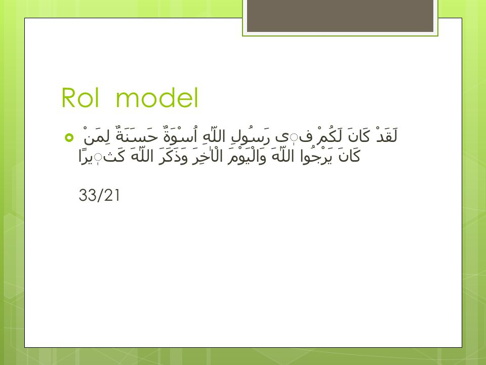 Rol model