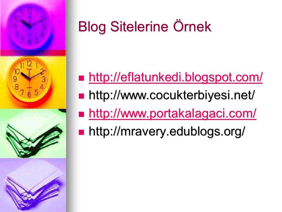Blog Sitelerine Örnek http://eflatunkedi.blogspot.com/
