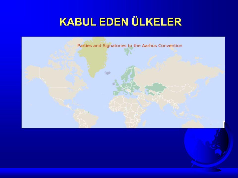 KABUL EDEN ÜLKELER