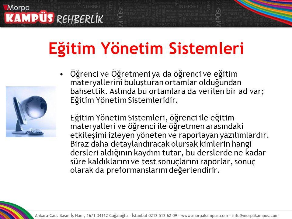 Eğitim Yönetim Sistemleri