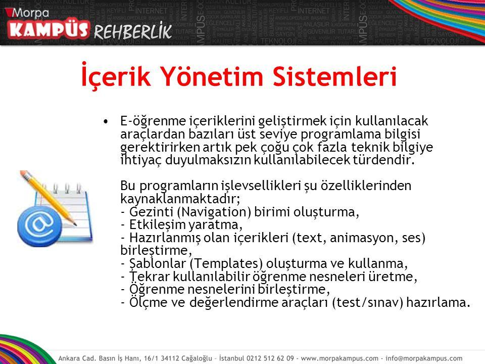 İçerik Yönetim Sistemleri