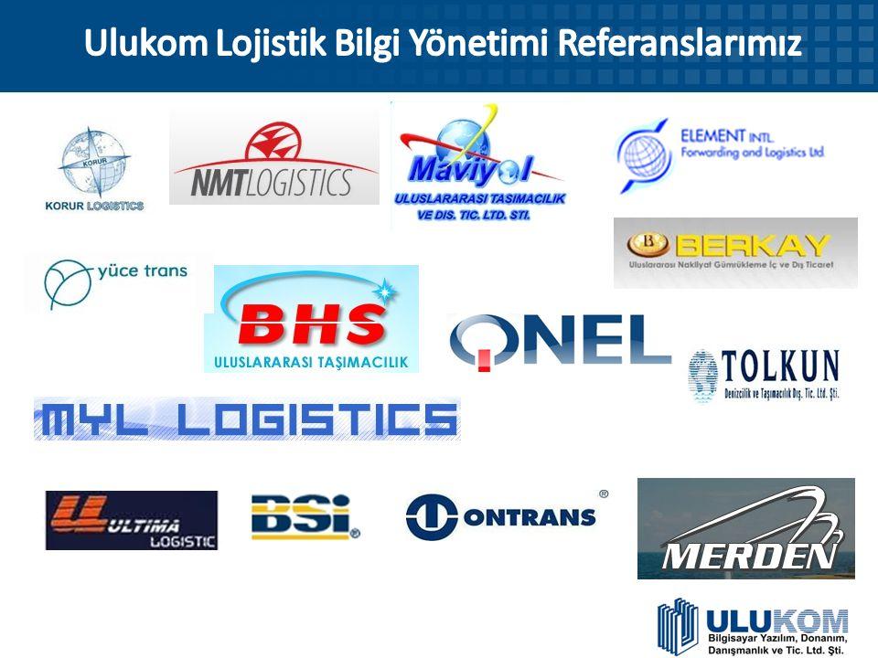 Ulukom Lojistik Bilgi Yönetimi Referanslarımız