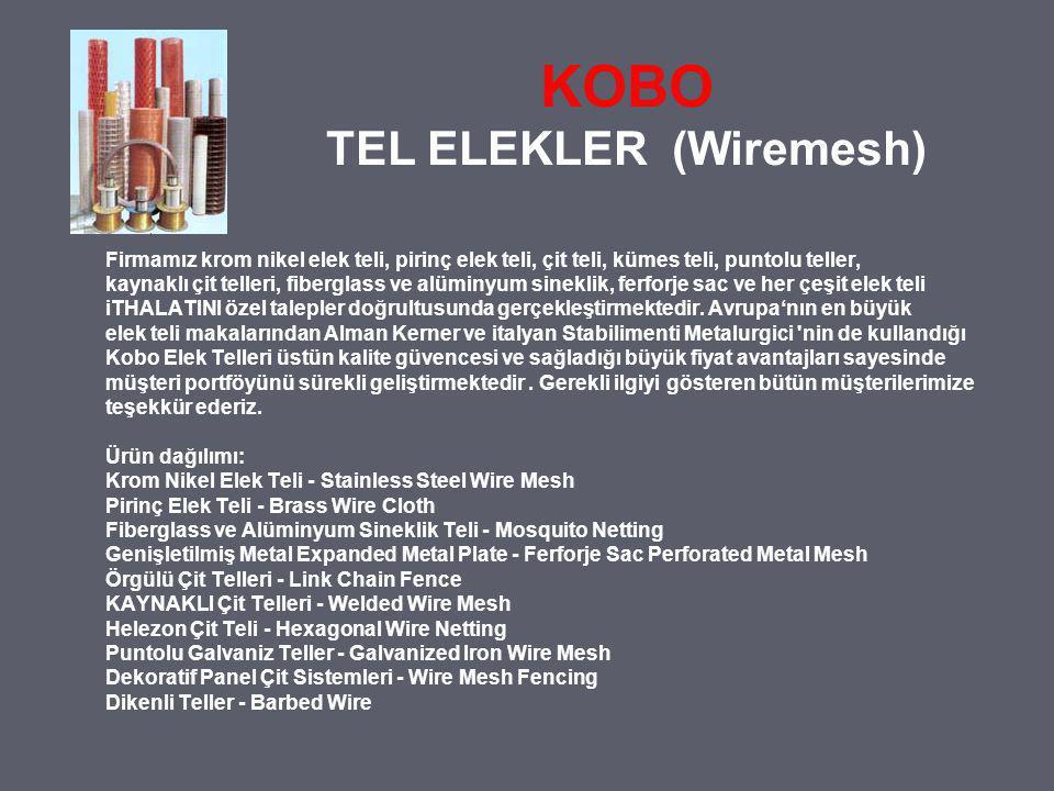 KOBO TEL ELEKLER (Wiremesh)