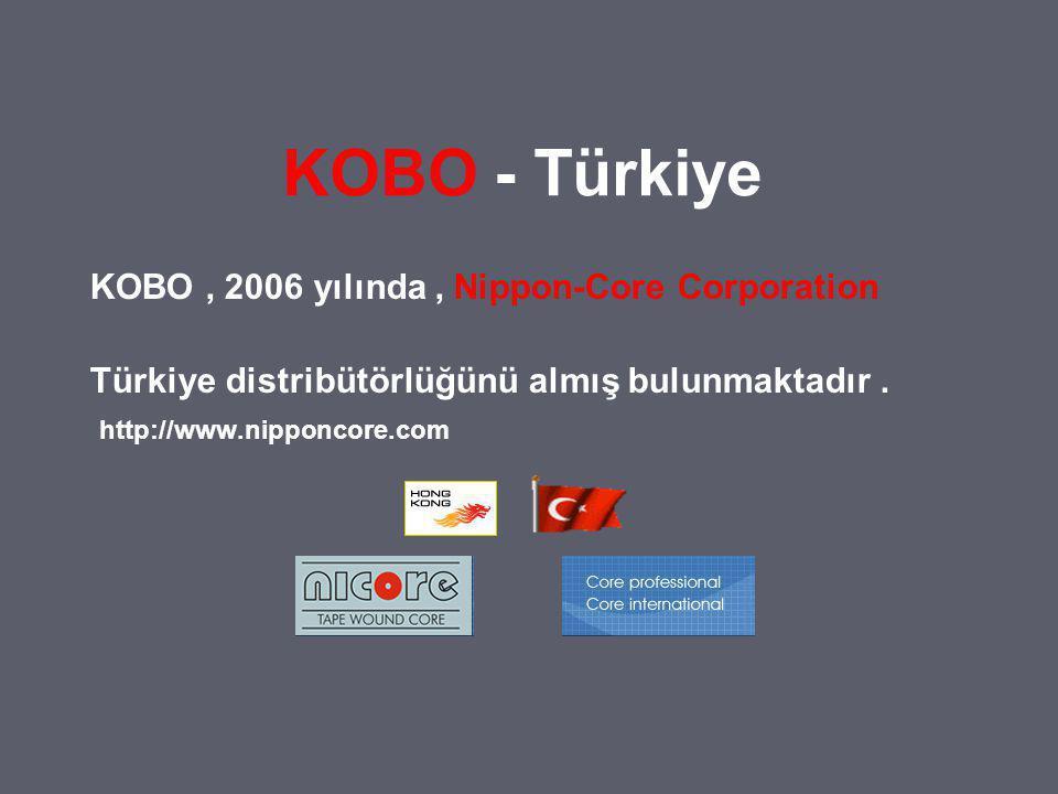 KOBO - Türkiye KOBO , 2006 yılında , Nippon-Core Corporation