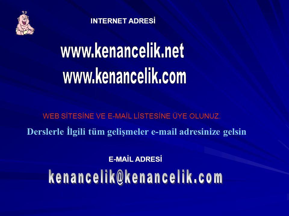 www.kenancelik.com www.kenancelik.net kenancelik@kenancelik.com