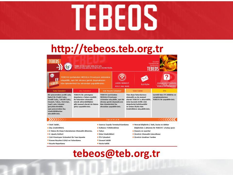 http://tebeos.teb.org.tr tebeos@teb.org.tr