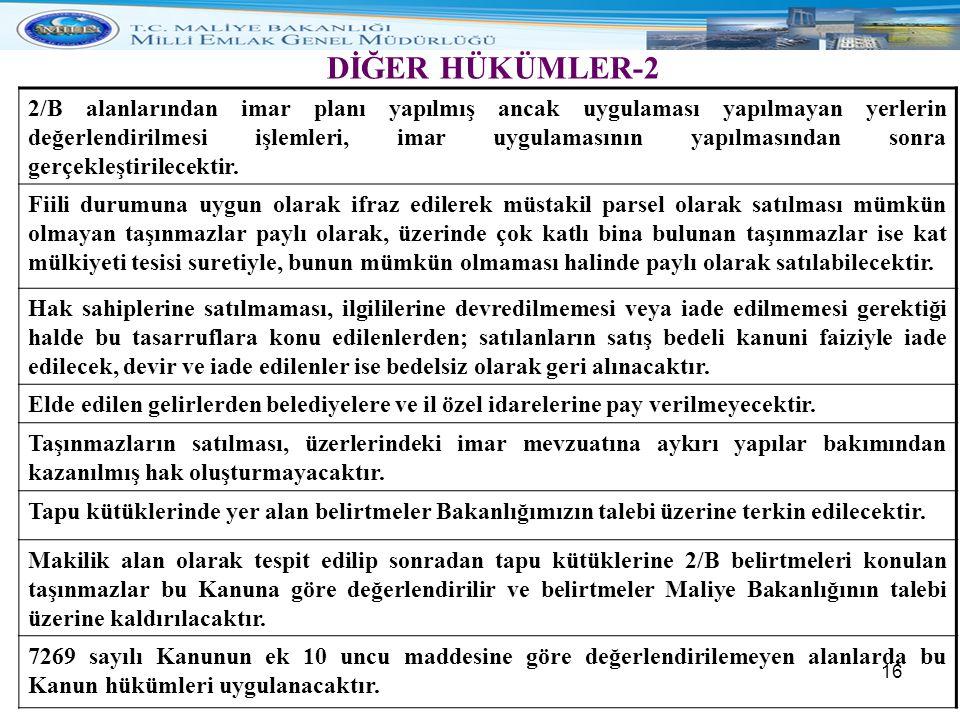 DİĞER HÜKÜMLER-2