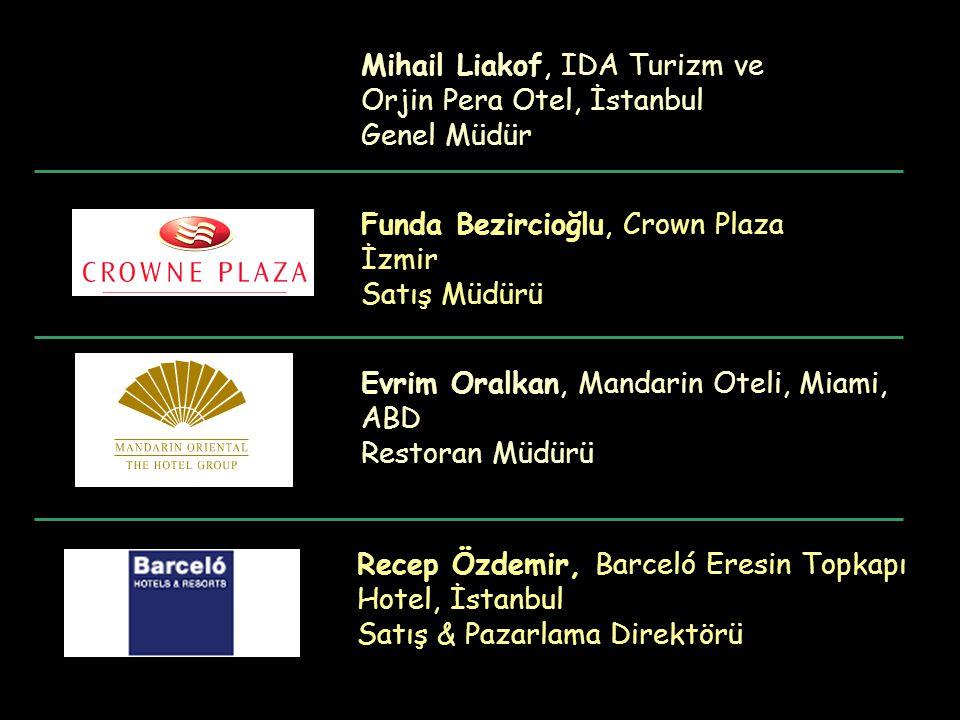Mihail Liakof, IDA Turizm ve Orjin Pera Otel, İstanbul