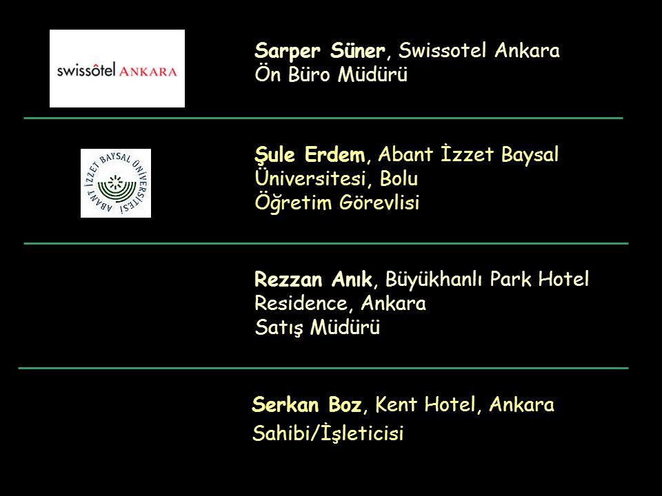Sarper Süner, Swissotel Ankara