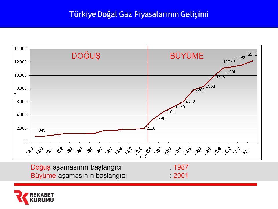 Türkiye Doğal Gaz Piyasalarının Gelişimi