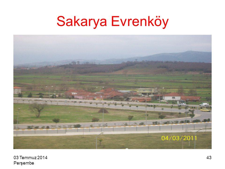 Sakarya Evrenköy 04 Nisan 2017 Salı