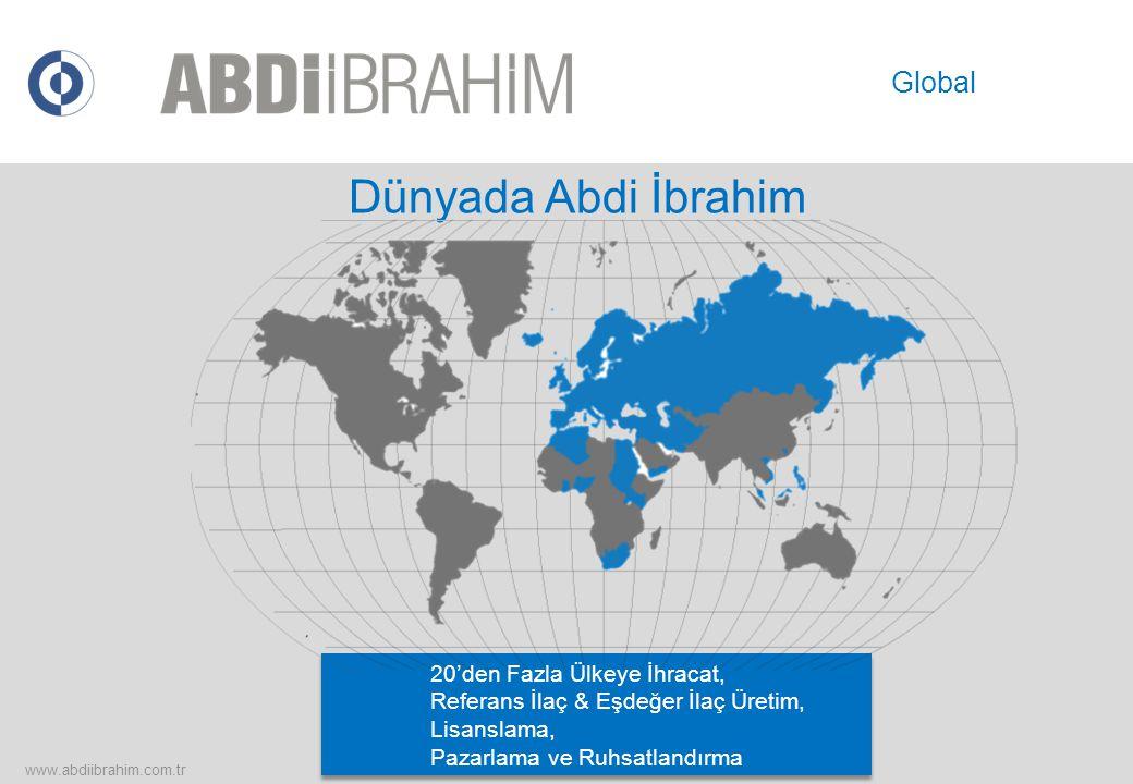 Dünyada Abdi İbrahim Global 20'den Fazla Ülkeye İhracat,