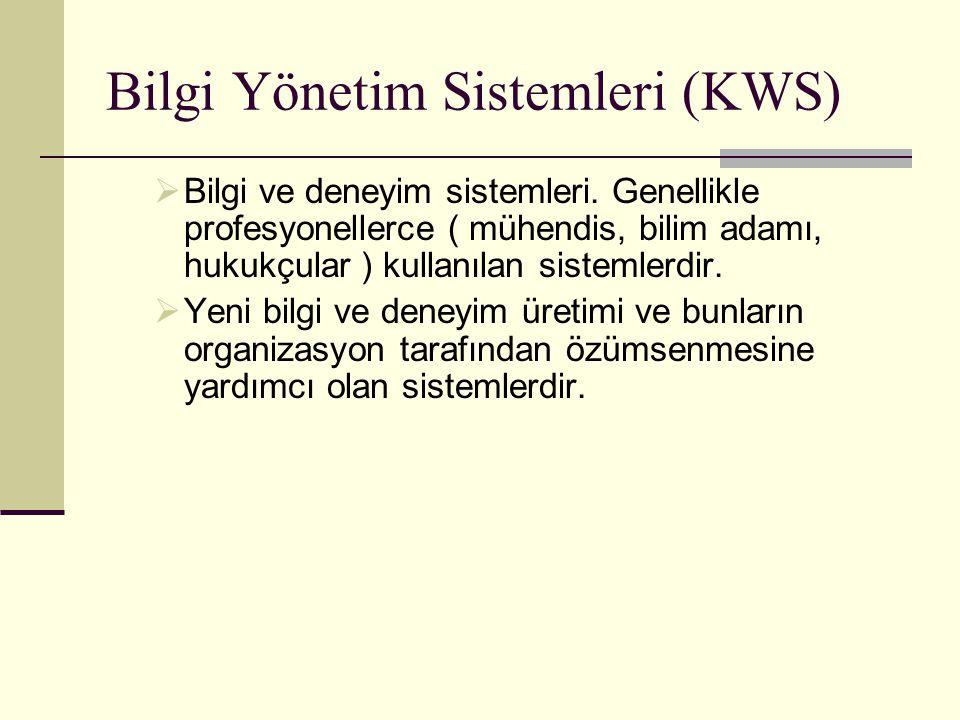 Bilgi Yönetim Sistemleri (KWS)