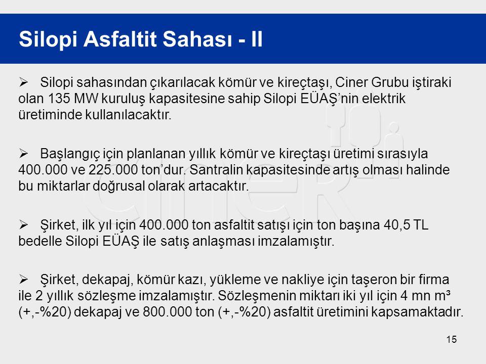 Silopi Asfaltit Sahası - II