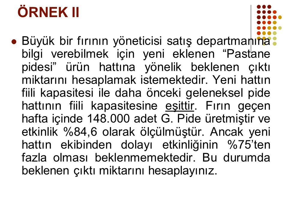 ÖRNEK II