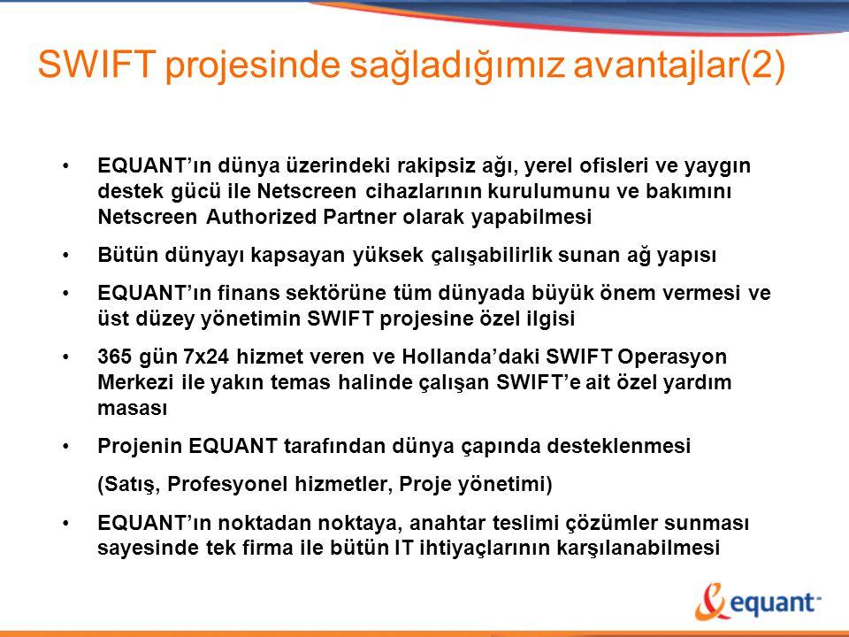 SWIFT projesinde sağladığımız avantajlar(2)