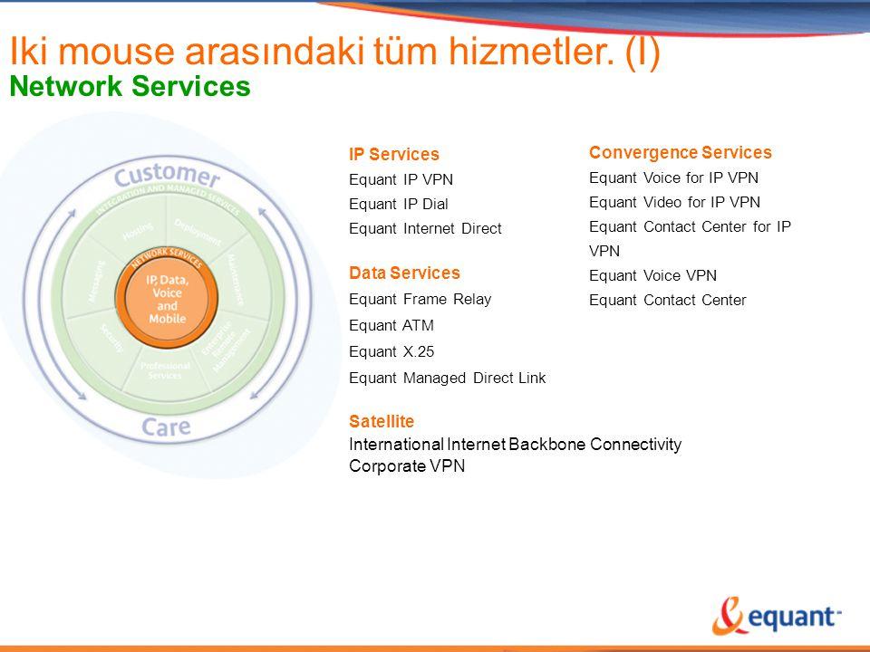 Iki mouse arasındaki tüm hizmetler. (I)