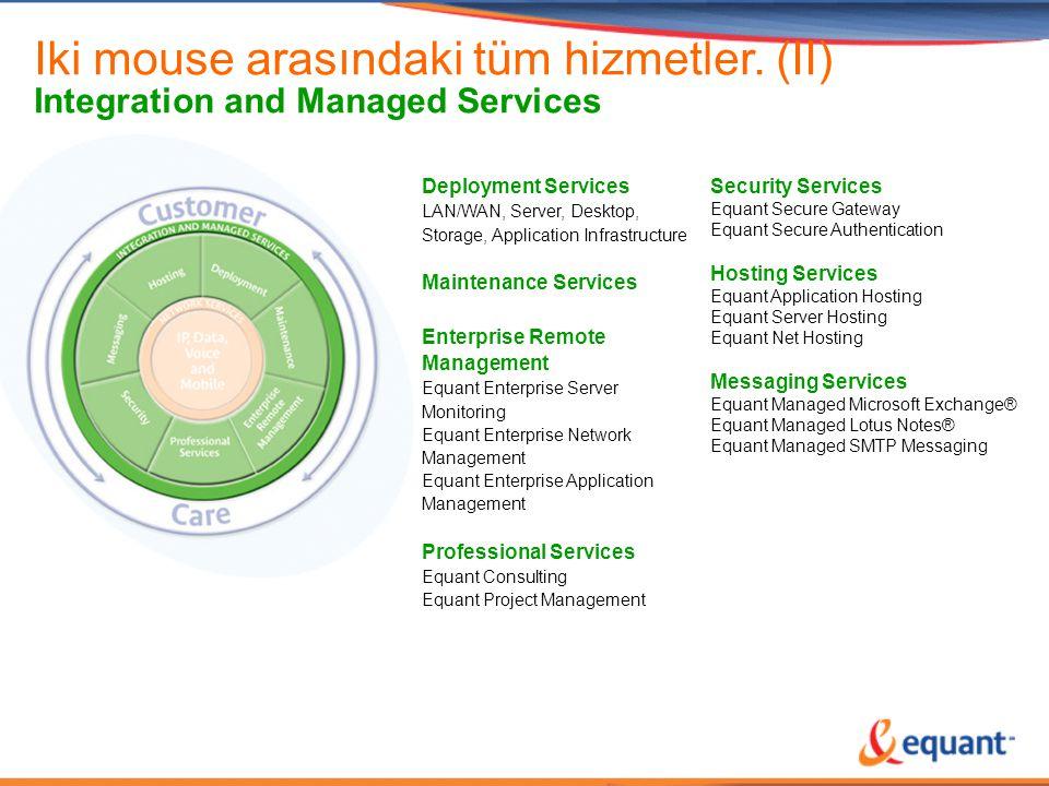 Iki mouse arasındaki tüm hizmetler. (II)